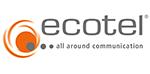 Logo ecotel AG